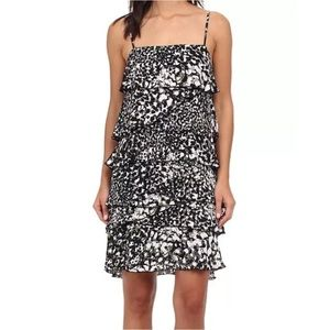 Rebecca Minkoff Jessica Dress Silk Sheath Ruffles